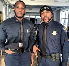 THE WORLD AT LARGE: How cool is this? Banky W & Lynxx in Police Unifor...