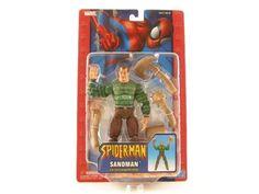 The Amazing Spider-Man Action Figure Sandman with Interchangeable Hands (Dark Sand) Spider-Man http://www.amazon.com/dp/B0006HTQ66/ref=cm_sw_r_pi_dp_yaMcub0516Q1Z