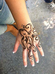 adorable cute henna love tattoo - image #281077 on Favim.com Cute Henna Tattoos, Love Tattoos, Hand Tattoos, Favim, Hand Henna, Tattoo Images, Octopus, Calamari, Arm Tattoos