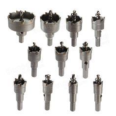 16-50mm Carbide Tip fúró fém fa Alloy Cutter lyukfűrész eszköz