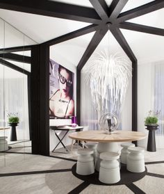 Casa Decor stand from Yo Dona, with a new perspective