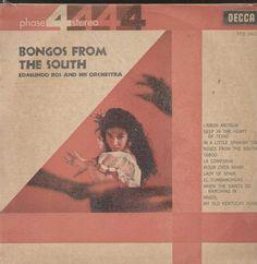 Bongos From The South Edmundo Ros And His Orchestra English Vinyl LP
