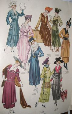 Fall Fashions by Pennelainer, via Flickr