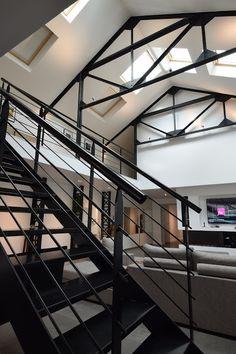 Jacques LENAIN Architecte Lille: TRANSFORMATION D'UN GARAGE EN LOFT A LA MADELEINE