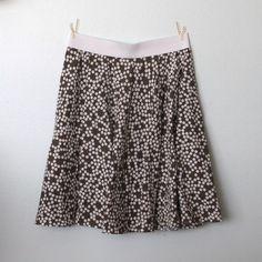 DIY circle skirt from a thriftedsheet - itsalwaysautumn - it's always autumn