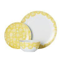 Made from porcelain, this dinner set from George Home is great for everyday dining. Designed with yellow sunflowers, it includes everything you need. Sunflower Design, Yellow Sunflower, Dinner Is Served, Side Plates, Dinner Sets, Black Kitchens, Asda, Lunches And Dinners, Dinner Plates