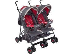 Beneto Twin Baston İkiz Bebek Arabası | İkiz Bebek Arabaları | Bebe De Marche