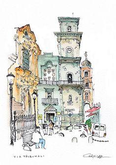 Via Tribunali, Naples | Flickr - Photo Sharing!