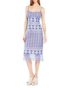 BCBGMAXAZRIA Alese Lace Dress   Bloomingdale's