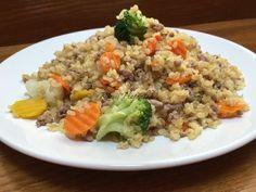 Easy Healthy Recipes, Vegan Recipes, Easy Meals, Cooking Recipes, Hungarian Recipes, Light Recipes, Fried Rice, Healthy Living, Paleo