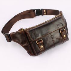 aeProduct.getSubject() Leather Fanny Pack, Leather Belt Bag, Leather Purses, Leather Handbags, Leather Accessories, Leather Jewelry, Leather Workshop, Handmade Leather Wallet, Belt Pouch