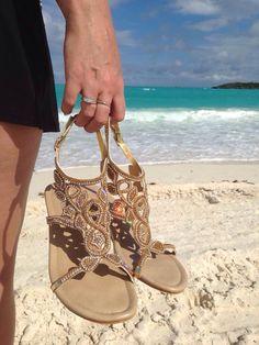 Love these Monaco Fibi and Clo Sandals!