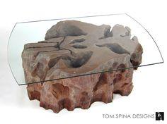 Boba Fett Themed Coffee Table - Star Wars Faux Rock Furniture ...