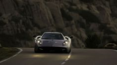 Wide wall paper pagani huayra in high resolution