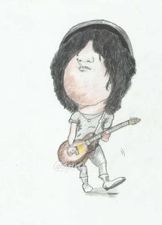 Slassh the legend guitar #art #celebrity