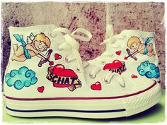 Lovely Custom Shoes  Converse