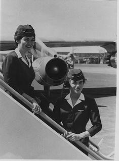 American Airlines 707 Jet Stewardess Argie Hoskins - argie hoskins shumway - Picasa Web Albums