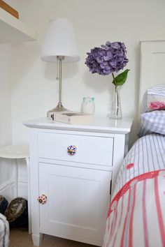 www.mammadisordine.blogspot.it Home Bedroom, Bedroom Ideas, Bedrooms, Sweet Home, New Homes, Interior, Table, Furniture, Home Decor