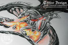 St George Custom Tattoo Design http://darkdesigngraphics.co.uk/tattoo-designs/st-george-tattoo-a-realistic-drawing/
