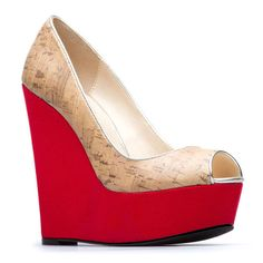 I love wedges! You can dress these up or down!
