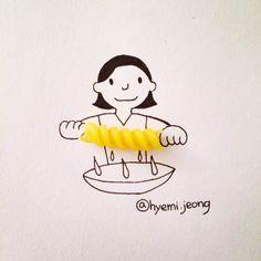 日用品がこんな可愛いアート作品に♡インスタで見つけたアイデア作品 - Yahoo! BEAUTY
