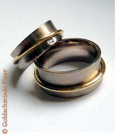 Goldschmiede Plaar in Osnabrück: Klimpernde Trauringe- Jingling wedding rings