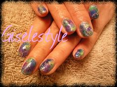 Sign of rain by gisele from Nail Art Gallery