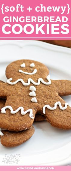 If you need an easy recipe for chewy and soft gingerbread cookies from scratch, you've come to the right place! While the traditional German recipe is time consuming and intense, I've broken down this Christmas classic for busy moms. The homemade dough is simple to put together so you have more time to add cute icing or frosting decorations to the gingerbread men with the kids! Click through to learn how to make this best holiday treat now!