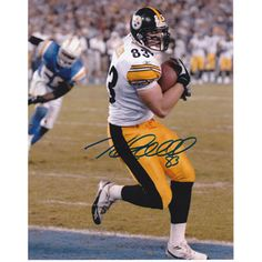 fc6e2d10ef9 Heath Miller Pittsburgh Steelers Autographed 2x Super Bowl Champion 8x10  Photograph