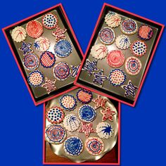 Fabulous 4th of July cookies!