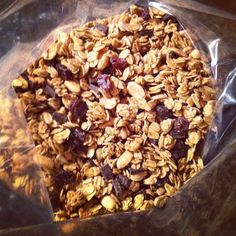PB Chocolate granola win! - New York City Dietitian Nutritionist