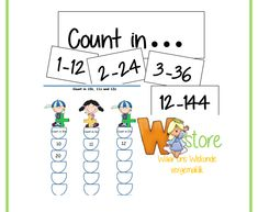 4 Fun filled pages of counting. All the numbers until Counting, Worksheets, Numbers, Foundation, Words, Fun, Literacy Centers, Foundation Series, Horse