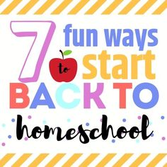 Homeschool families can celebrate back to school, too. Here are some great ideas on how to get your year off to a great start.   #homeschool, #makingmemories, #backtoschool