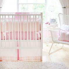 Pink Sorbet Baby Bedding