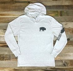 The Bison Union Classic Lightweight Hoodie 46a46ef6f559