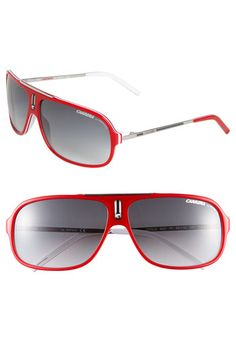 Carrera Eyewear 'Cool' 65mm Aviator Sunglasses Red One Size