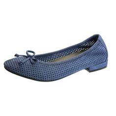 David Tate Altoona Women US 9.5 N/S Blue Flats, Women's, Size: 9.5 Narrow