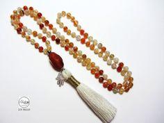 Mala bead necklace108 mala di Laboratorio7Bijoux su Etsy