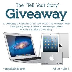 Check this out!!! @unveiledwife is doing an awesome giveaway to celebrate the release of her book #UnveiledWifeBook :)