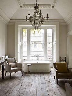My dream bathroom interior designer Rose Uniacke's London home. Bad Inspiration, Bathroom Inspiration, Interior Inspiration, Bathroom Ideas, Design Bathroom, Bathroom Renovations, Remodel Bathroom, Bathroom Inspo, Bathroom Layout