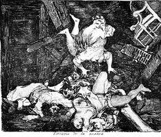 Ravages of war - Francisco Goya