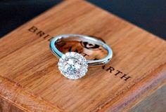Halo Diamond Ring  #BrilliantEarth