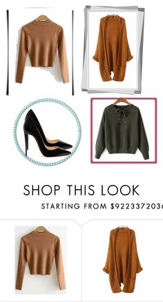 """""""Zaful 8/15"""" by sabinasalkic ❤ liked on Polyvore featuring Christian Louboutin"""