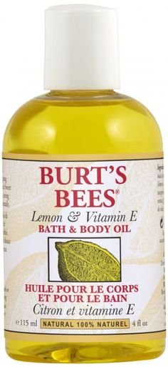 Lovingly nourish your skin with a bottle of our Lemon and Vitamin E Bath and Body Oil. This 100% natural bath and body product blends energising lemon oil with vitamin E and sweet almond oil. Perfectly balanced, it helps smooth and moisturise your dry skin.