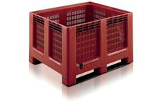 Buy Ventilated Plastic Pallet Boxes Online - Storage Construction