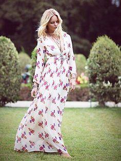 # Free People Jenny Printed Dress