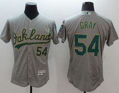 Athletics #54 Sonny Gray Grey Flexbase Authentic Collection Stitched MLB Jersey
