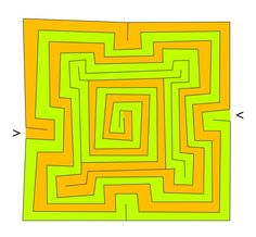 The square Babylonian labyrinth