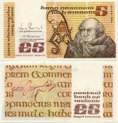 Ireland, B Series, Banknote. Johannes Scotus Eriugena (c. (also John the Scot), was an Irish theologian, Neoplatonist philosopher and poet. Irish Mythical Creatures, Irish Free State, Irish Language, Money Notes, Old Irish, Coins Worth Money, Coin Worth, Old Money, World Coins