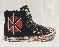 Items similar to Aerosmith shoes Chuck Taylor s on Etsy 6a374ce42b3